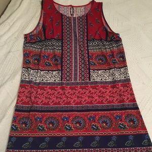 WOMENS MULTI COLORED DRESS